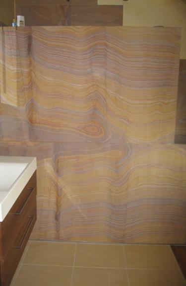 Badezimmer fliesen pfeifer platten und - Sandstein fliesen bad ...